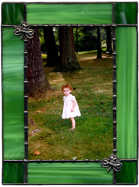 Green Clover Picture Frame